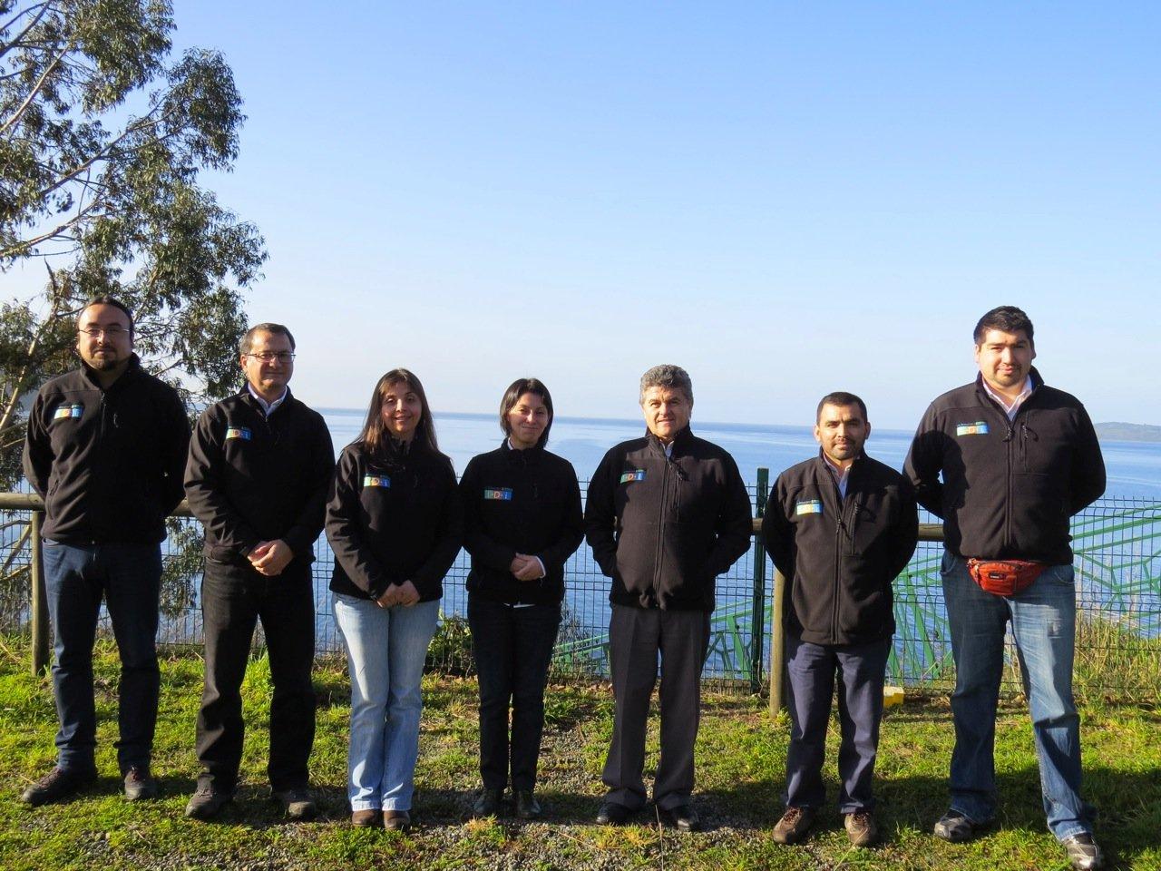 La Araucana toothfish team